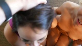 Bryci – Aaliyah Love Pops Our Cherry (our First Threeway!)