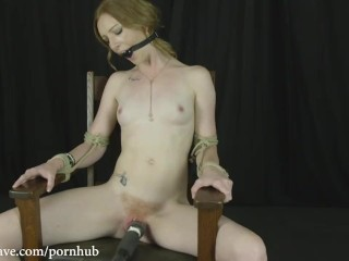 Katy Kiss Chair Tied + Cumming