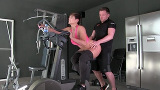 Fucked By My Personal Trainer In The Gym Xxx