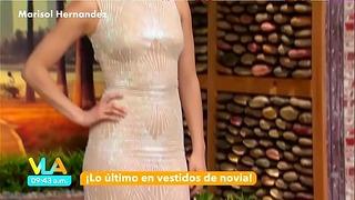 Marisol Hernandez Cuerpazo En Vestido Entallado Vla