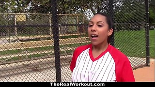 Therealworkout – Busty Latina (priya Price) Loves to Play With Balls